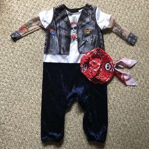 Born To Be Wild Biker Costume